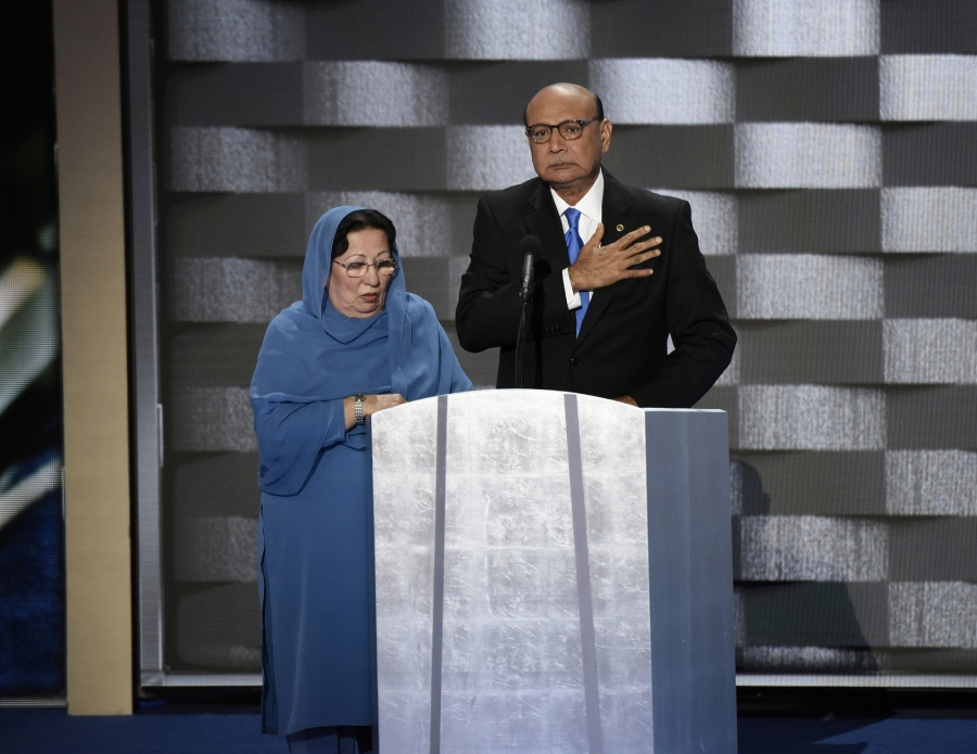 Ghazala Khan and Khizr Khan